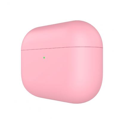 SwitchEasy Colors Duo Caps Case - силиконов калъф за Apple Airpods Pro (розов-светлосин)  4