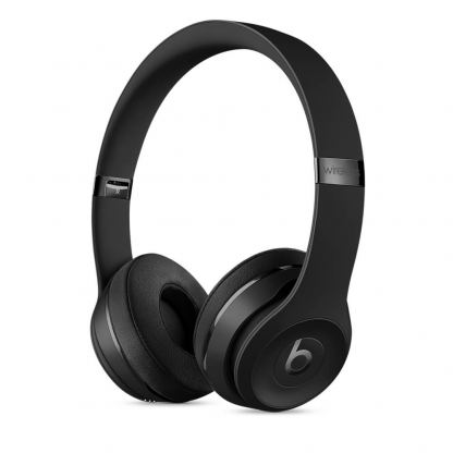 Beats Solo 3 Wireless On-Ear Headphones - професионални безжични слушалки с микрофон и управление на звука за iPhone, iPod и iPad (черен)