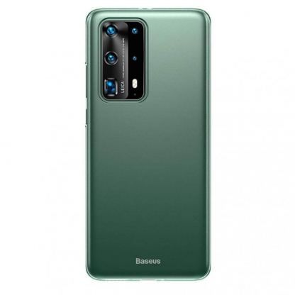 Baseus Wing case - тънък полипропиленов кейс (0.45 mm) за Huawei P40 (зелен)