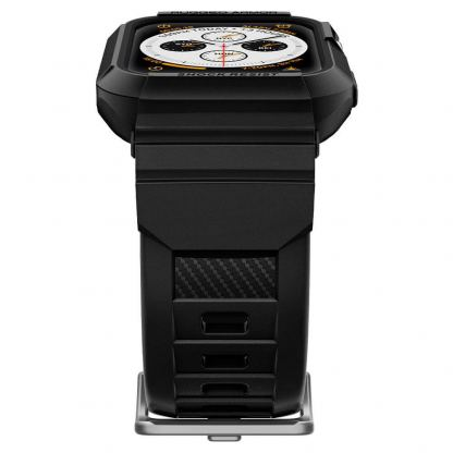 Spigen Rugged Armor Case Pro - удароустойчив TPU кейс за Apple Watch 40mm. (черен) 7