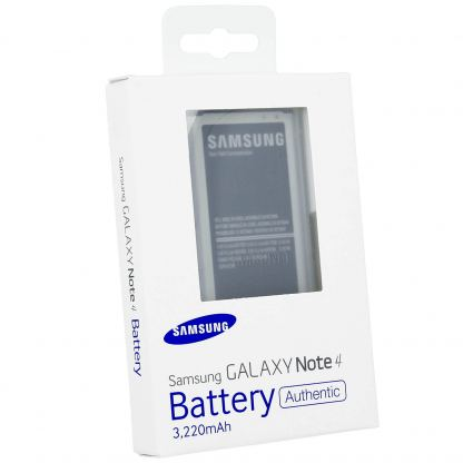 Samsung Battery EB-BN910BBEGWW - оригинална резервна батерия за Samsung Galaxy Note 4 (ритейл опаковка)