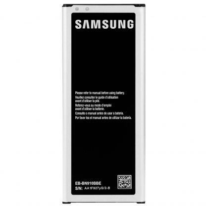 Samsung Battery EB-BN910BBEGWW - оригинална резервна батерия за Samsung Galaxy Note 4 (ритейл опаковка) 2