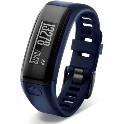Garmin Vivosmart HR Regular size - Смарт активити тракер с вграден пулсомер (тъмосин)