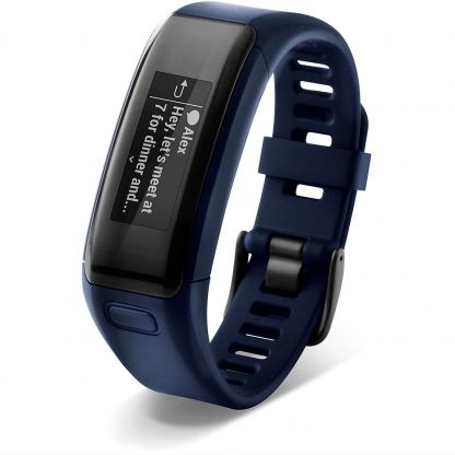 Garmin Vivosmart HR Regular size - Смарт активити тракер с вграден пулсомер (тъмосин) 3