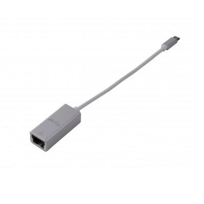 LMP USB-C to Gigabit Ethernet Adapter - Ethernet адаптер за MacBook 12 и компютри с USB-C (сребрист)