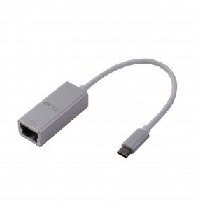 LMP USB-C to Gigabit Ethernet Adapter - Ethernet адаптер за MacBook 12 и компютри с USB-C (сребрист) 3