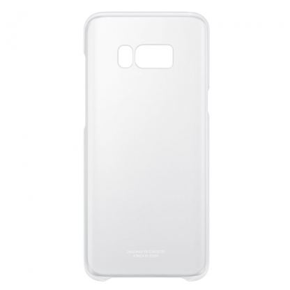 Samsung Clear Cover Case EF-QG955CSEGWW - оригинален TPU кейс за Samsung Galaxy S8 Plus (прозрачен-сребрист) 3