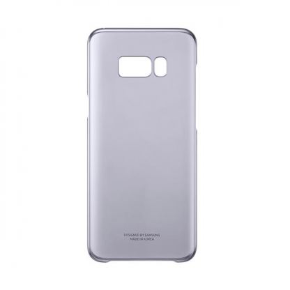 Samsung Clear Cover Case EF-QG955CVEGWW - оригинален TPU кейс за Samsung Galaxy S8 Plus (прозрачен-виолетов) 4