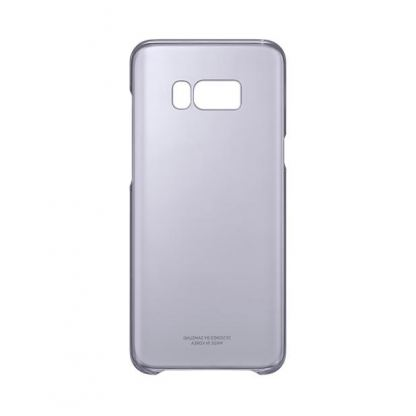 Samsung Clear Cover Case EF-QG955CVEGWW - оригинален TPU кейс за Samsung Galaxy S8 Plus (прозрачен-виолетов) 5