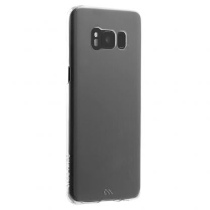 CaseMate Barely There - поликарбонатов кейс за Samsung Galaxy S8 (прозрачен)