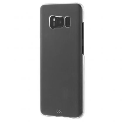 CaseMate Barely There - поликарбонатов кейс за Samsung Galaxy S8 (прозрачен) 3