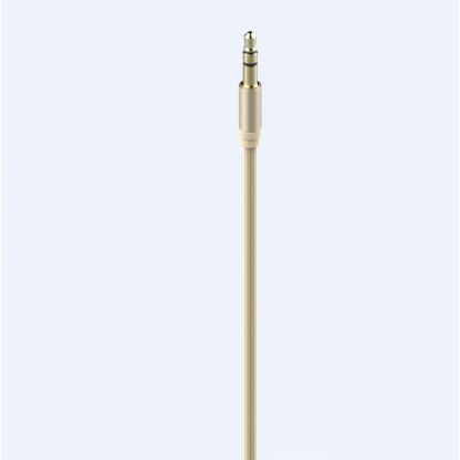 Devia Gracious Premium Lightning to 3.5mm. Audio Cable - качествен аудио кабел от Lightning към 3.5 мм. (златист) 4