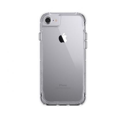 Griffin Survivor Clear Case - хибриден удароустойчив кейс за iPhone 7, iPhone 8, iPhone 6S, iPhone 6 (прозрачен) 2
