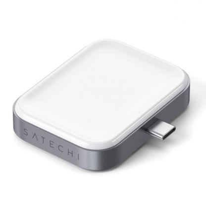 Satechi USB-C Wireless Charging Dock for Apple Airpods - USB-C док за зареждане на Apple Airpods Pro и Airpods 2 Wireless Charging Case (бял) 2