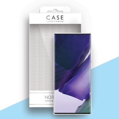 Case FortyFour No.1 Case - силиконов (TPU) калъф за Samsung Galaxy Note 20 Ultra (прозрачен) 3
