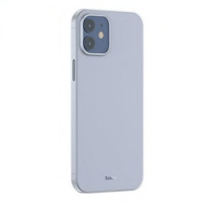 Baseus Wing case - тънък полипропиленов кейс (0.45 mm) за iPhone 12 mini (черен) 2