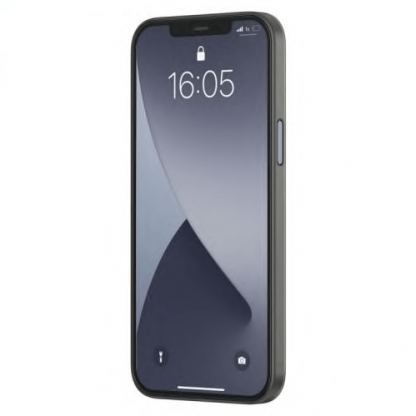 Baseus Wing case - тънък полипропиленов кейс (0.45 mm) за iPhone 12 mini (черен) 3