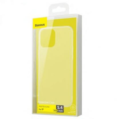 Baseus Wing case - тънък полипропиленов кейс (0.45 mm) за iPhone 12 mini (черен) 4