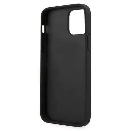 BMW M Collection PU Carbon Hard Case - кожен кейс за iPhone 12, iPhone 12 Pro (черен) 5