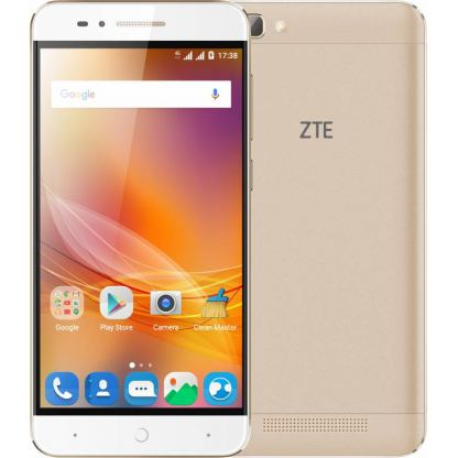"Smartphone ZTE Blade А610 LTE Dual SIM 5.0"" IPS HD (1280 x 720) / Cortex-A53 Quad-Core 1.0GHz / 16GB Memory / 2GB RAM / Camera 8.0 MP+Flash & AF/5MP / Bluetooth 4.0 / WiFi 802.11 b/g/n / GPS / Battery Li-Ion 4000 mAh / Android 6.0 / Gold"