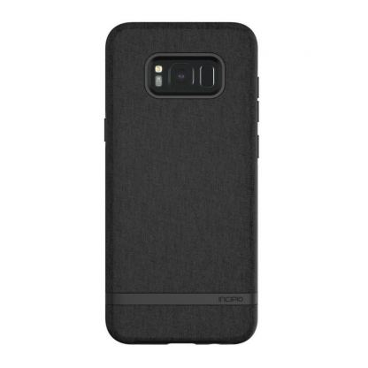 Incipio Classic Case Design Series - дизайнерски удароустойчив TPU кейс за Samsung Galaxy S8 Plus (черен) 5