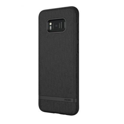 Incipio Classic Case Design Series - дизайнерски удароустойчив TPU кейс за Samsung Galaxy S8 Plus (черен) 4