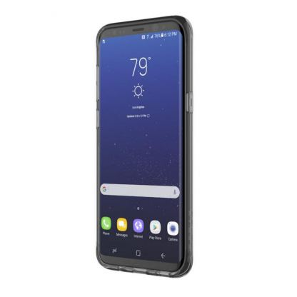 Incipio Classic Case Design Series - дизайнерски удароустойчив TPU кейс за Samsung Galaxy S8 Plus (сив-розов) 3