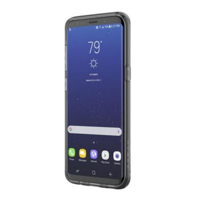 Incipio Classic Case Design Series - дизайнерски удароустойчив TPU кейс за Samsung Galaxy S8 (прозрачен-златист) 2