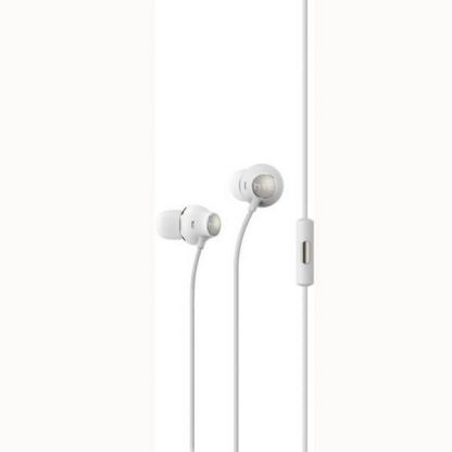 HTC Hi Res Headset MAX 310 - оригинални слушалки с микрофон за HTC смартфони (бял)