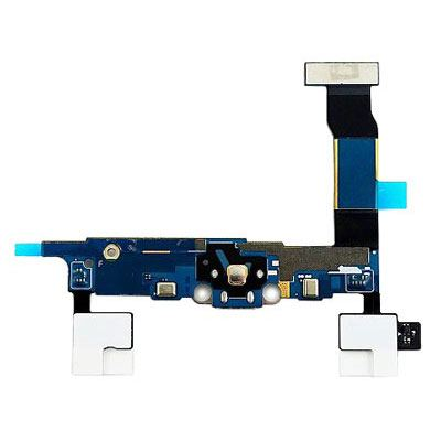 Samsung Charging Connector Flex Cable - оригинална резервна платка с microUSB вход за зареждане за Samsung Galaxy Note 4 2