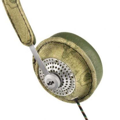 The House of Marley Haramble On-Ear Headphones - слушалки за iPhone, iPod и устройства с 3.5 мм изход (зелен) 3