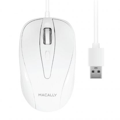Macally Turbo Mouse - USB оптична мишка за PC и Mac