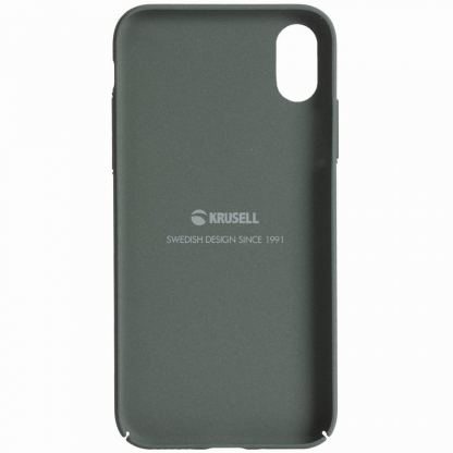 Krusell Sandby Cover - поликарбонатов кейс за iPhone X (зелен) 2