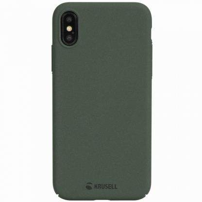 Krusell Sandby Cover - поликарбонатов кейс за iPhone X (зелен) 6