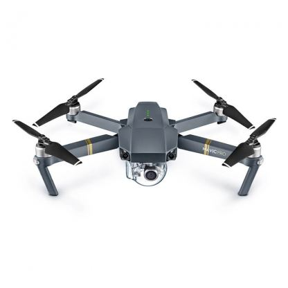 DJI Mavic Pro Fly More Combo- дрон с контролер за управление от iPhone, iPod, iPad and Android устройства (черен)