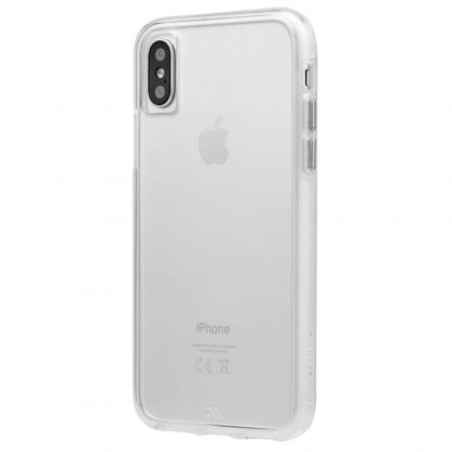 CaseMate Barely There - поликарбонатов кейс за iPhone XS, iPhone X (прозрачен) 3