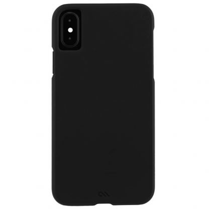 CaseMate Barely There - поликарбонатов кейс за iPhone XS, iPhone X (черен) 2