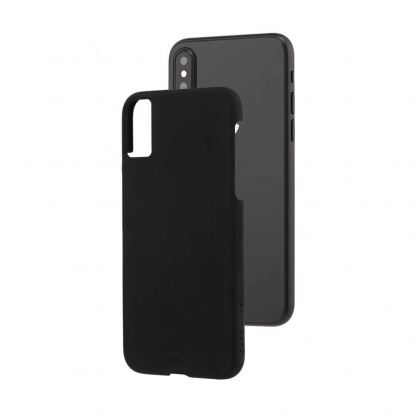 CaseMate Barely There - поликарбонатов кейс за iPhone XS, iPhone X (черен) 3