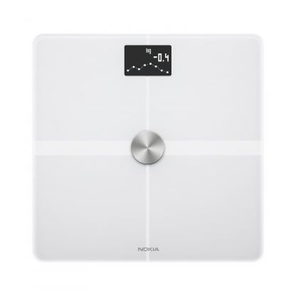 Nokia Body Plus Full Body Composition WiFi Scale - безжичен кантар с приложение за iOS и Android (бял) 2