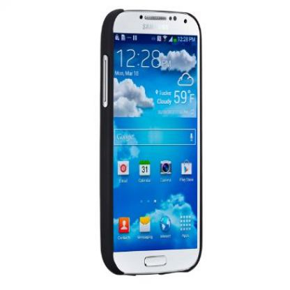 CaseMate Barely There - поликарбонатов кейс за Samsung Galaxy S4 mini i9195 (черен) 2