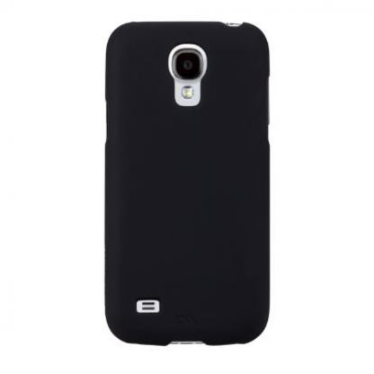 CaseMate Barely There - поликарбонатов кейс за Samsung Galaxy S4 mini i9195 (черен) 3