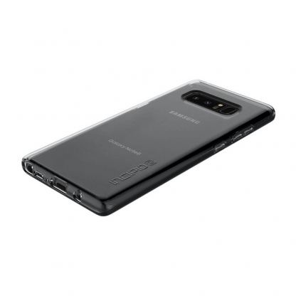 Incipio NGP Pure Case - удароустойчив силиконов (TPU) калъф за Samsung Galaxy Note 8 (прозрачен) 2
