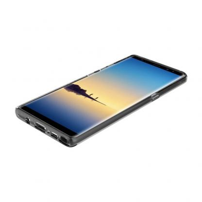 Incipio NGP Pure Case - удароустойчив силиконов (TPU) калъф за Samsung Galaxy Note 8 (прозрачен) 3