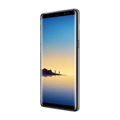 Incipio NGP Pure Case - удароустойчив силиконов (TPU) калъф за Samsung Galaxy Note 8 (прозрачен) 4