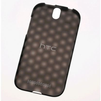 HTC HC C830 Hard Shell Case - поликарбонатов кейс за HTC One SV (черен)