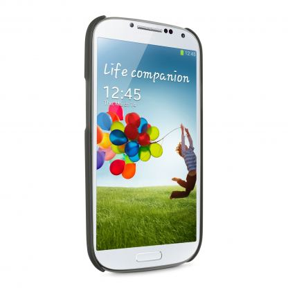 Belkin Shield Sheer Matte - поликарбонатов кейс за Samsung Galaxy S4  (черен) 3
