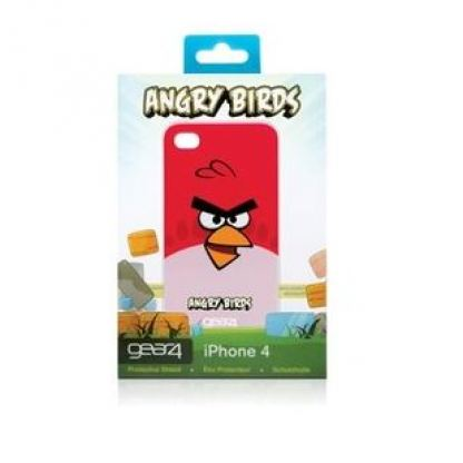 Gear4 Angry Birds Red Bird - поликарбонатов кейс за iPhone 4/4S 2