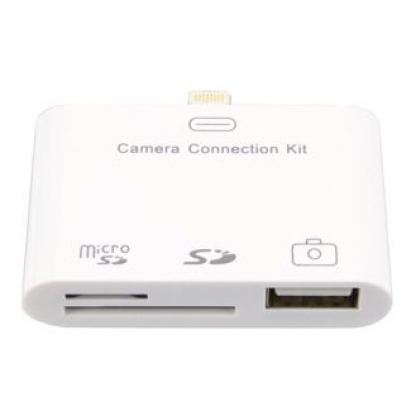 Camera Connection Kit 3in1 - адаптер за iPad 4 и iPad mini 2