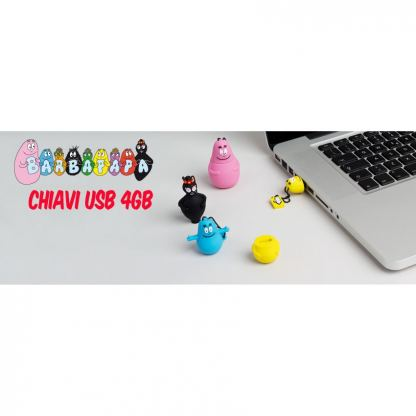 USB Tribe Barbibul High Speed USB 2.0 Flash Drive 4GB - флаш памет 4GB 2