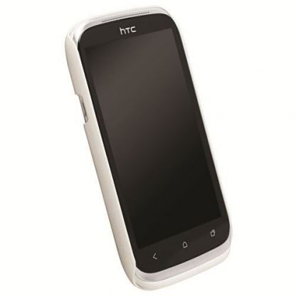 Krusell ColorCover - поликарбонатов кейс за HTC Desire X, Desire V (бял) 2